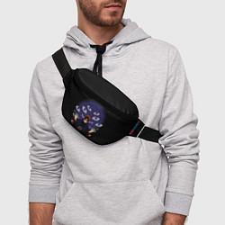 Поясная сумка Пейн Наруто цвета 3D-принт — фото 2