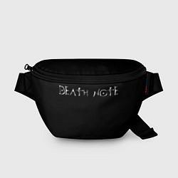 Поясная сумка Тетрадь Смерти цвета 3D — фото 1