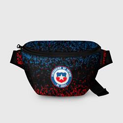 Поясная сумка Сборная Чили цвета 3D-принт — фото 1