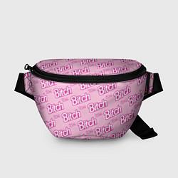 Поясная сумка Bitch Pattern цвета 3D-принт — фото 1