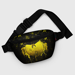 Поясная сумка Wu-Tang Clan: Yellow цвета 3D-принт — фото 2