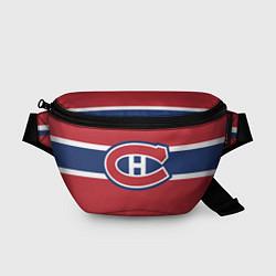 Поясная сумка Montreal Canadiens цвета 3D-принт — фото 1