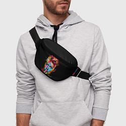 Поясная сумка Дэвид Боуи цвета 3D-принт — фото 2