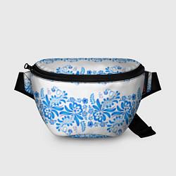 Поясная сумка Гжель цвета 3D — фото 1