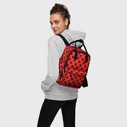 Рюкзак женский Леди Баг: узор цвета 3D — фото 2