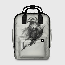 Рюкзак женский Дикий орел цвета 3D-принт — фото 1