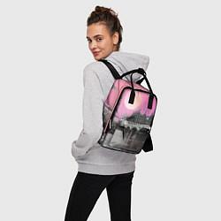 Рюкзак женский Закат в Великобритании цвета 3D-принт — фото 2