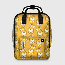Рюкзак женский Маленькие Корги цвета 3D — фото 1