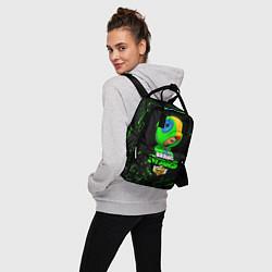 Рюкзак женский BRAWL STARS LEON цвета 3D — фото 2