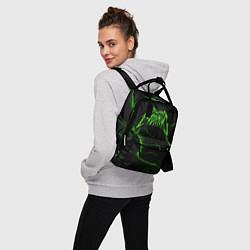 Рюкзак женский ПОШЛАЯ МОЛЛИ цвета 3D-принт — фото 2