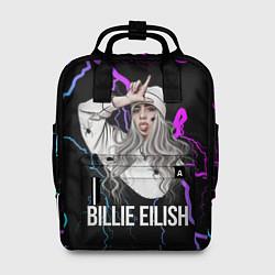 Рюкзак женский BILLIE EILISH цвета 3D — фото 1