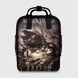 Рюкзак женский Disturbed цвета 3D-принт — фото 1
