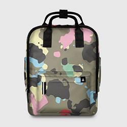 Рюкзак женский Камуфляж: микс цветов цвета 3D — фото 1