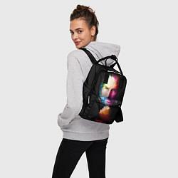 Рюкзак женский Стив Джобс цвета 3D — фото 2