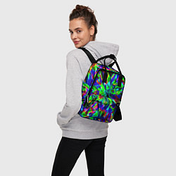 Рюкзак женский Оксид красок цвета 3D — фото 2