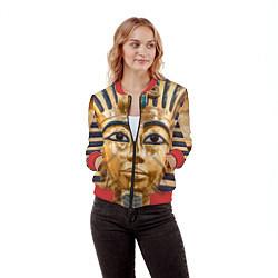 Бомбер женский Фараон цвета 3D-красный — фото 2