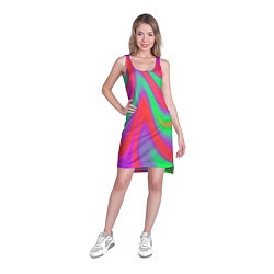 Туника женская Глянцевые краски цвета 3D — фото 2