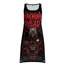 Туника женская Machine Head: Blooded Skull цвета 3D — фото 1