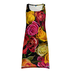 Туника женская Ассорти из роз цвета 3D — фото 1