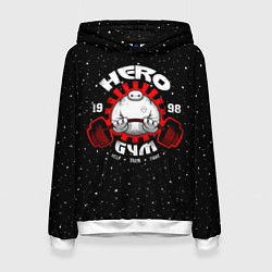 Толстовка-худи женская Hero Gym цвета 3D-белый — фото 1