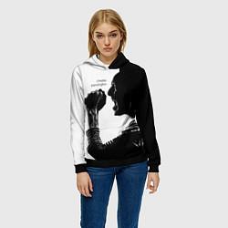 Толстовка-худи женская Bennington Rock цвета 3D-черный — фото 2