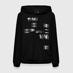 Толстовка-худи женская Epic Runner цвета 3D-черный — фото 1