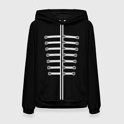 Толстовка-худи женская My Chemical Romance цвета 3D-черный — фото 1