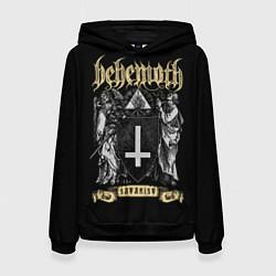 Толстовка-худи женская Behemoth: Satanist цвета 3D-черный — фото 1
