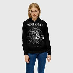 Толстовка-худи женская Meshuggah: Chaosphere цвета 3D-черный — фото 2