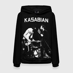 Толстовка-худи женская Kasabian Rock цвета 3D-черный — фото 1
