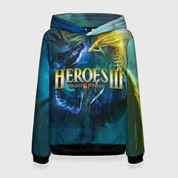 Толстовка-худи женская Heroes of Might and Magic цвета 3D-черный — фото 1