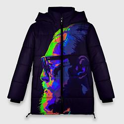 Женская зимняя 3D-куртка с капюшоном с принтом McGregor Neon, цвет: 3D-черный, артикул: 10102380506071 — фото 1