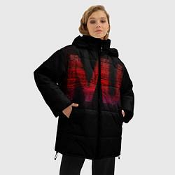Куртка зимняя женская Manchester United team - фото 2