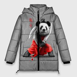 Куртка зимняя женская Master Panda цвета 3D-черный — фото 1