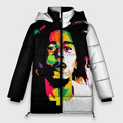 Куртка зимняя женская Bob Marley: Colors цвета 3D-черный — фото 1