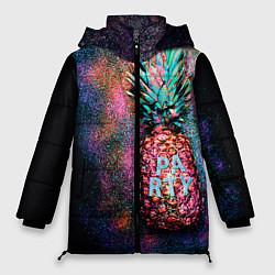 Куртка зимняя женская Fashion Party цвета 3D-черный — фото 1