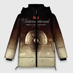 Куртка зимняя женская The International Championships цвета 3D-черный — фото 1