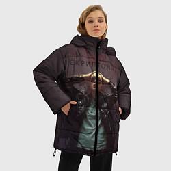 Куртка зимняя женская Скриптонит - фото 2