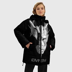 Куртка зимняя женская Eminem B&G цвета 3D-черный — фото 2