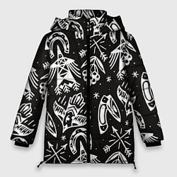 Куртка зимняя женская Сибирские мотивы - фото 1