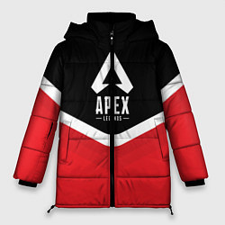 Женская зимняя 3D-куртка с капюшоном с принтом Apex Legends: Uniform, цвет: 3D-черный, артикул: 10172618906071 — фото 1