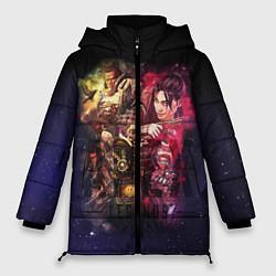 Женская зимняя 3D-куртка с капюшоном с принтом Apex Legends: Stories, цвет: 3D-черный, артикул: 10172935306071 — фото 1