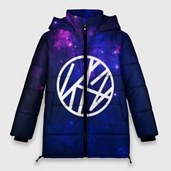 Женская зимняя 3D-куртка с капюшоном с принтом Stray Kids, цвет: 3D-черный, артикул: 10176227906071 — фото 1