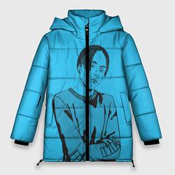 Женская зимняя 3D-куртка с капюшоном с принтом T-Fest, цвет: 3D-черный, артикул: 10182183106071 — фото 1