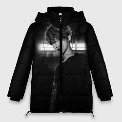 Женская зимняя 3D-куртка с капюшоном с принтом Stray Kids, цвет: 3D-черный, артикул: 10184762506071 — фото 1