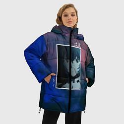Женская зимняя 3D-куртка с капюшоном с принтом Первое дитя, цвет: 3D-черный, артикул: 10203908706071 — фото 2