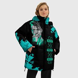 Женская зимняя 3D-куртка с капюшоном с принтом NILETTO, цвет: 3D-черный, артикул: 10211073506071 — фото 2