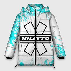Женская зимняя 3D-куртка с капюшоном с принтом NILETTO, цвет: 3D-черный, артикул: 10213512906071 — фото 1