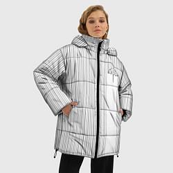 Женская зимняя 3D-куртка с капюшоном с принтом The umbrella academy Z, цвет: 3D-черный, артикул: 10256839706071 — фото 2