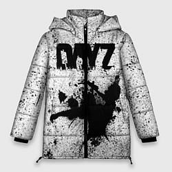 Женская зимняя 3D-куртка с капюшоном с принтом DayZ, цвет: 3D-черный, артикул: 10287273306071 — фото 1